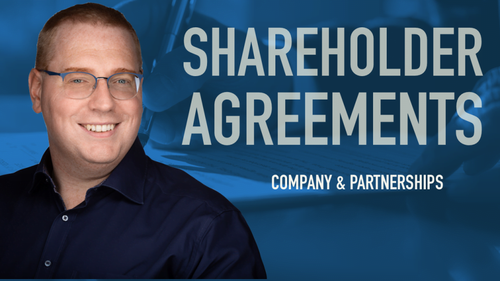 Company and shareholder agreements placeholder